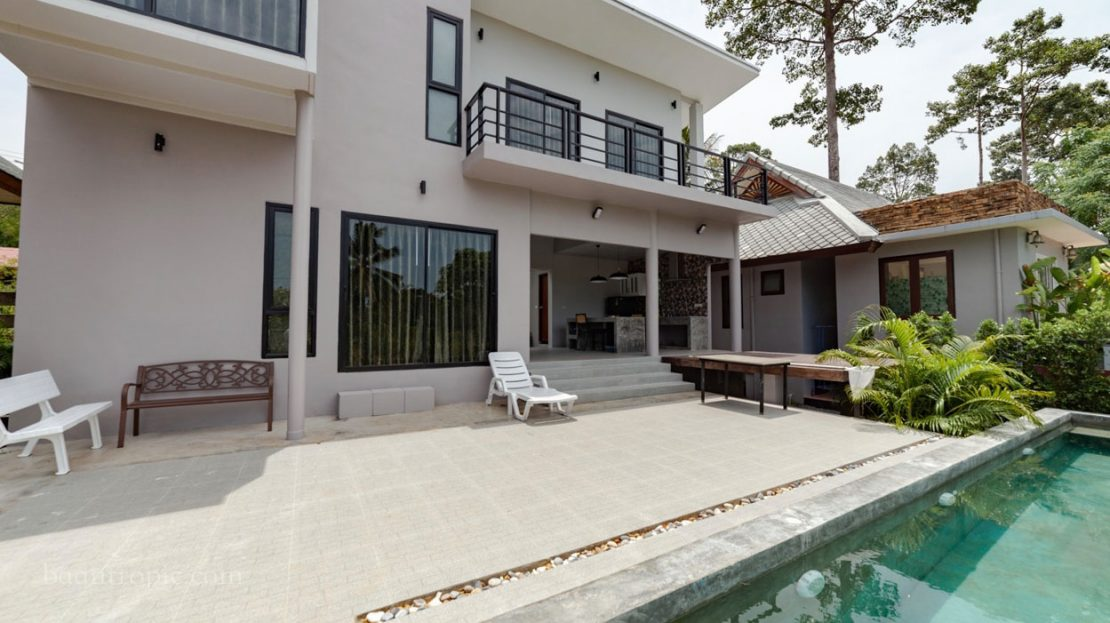 3 bedroom house in Lamai for rent in Samui