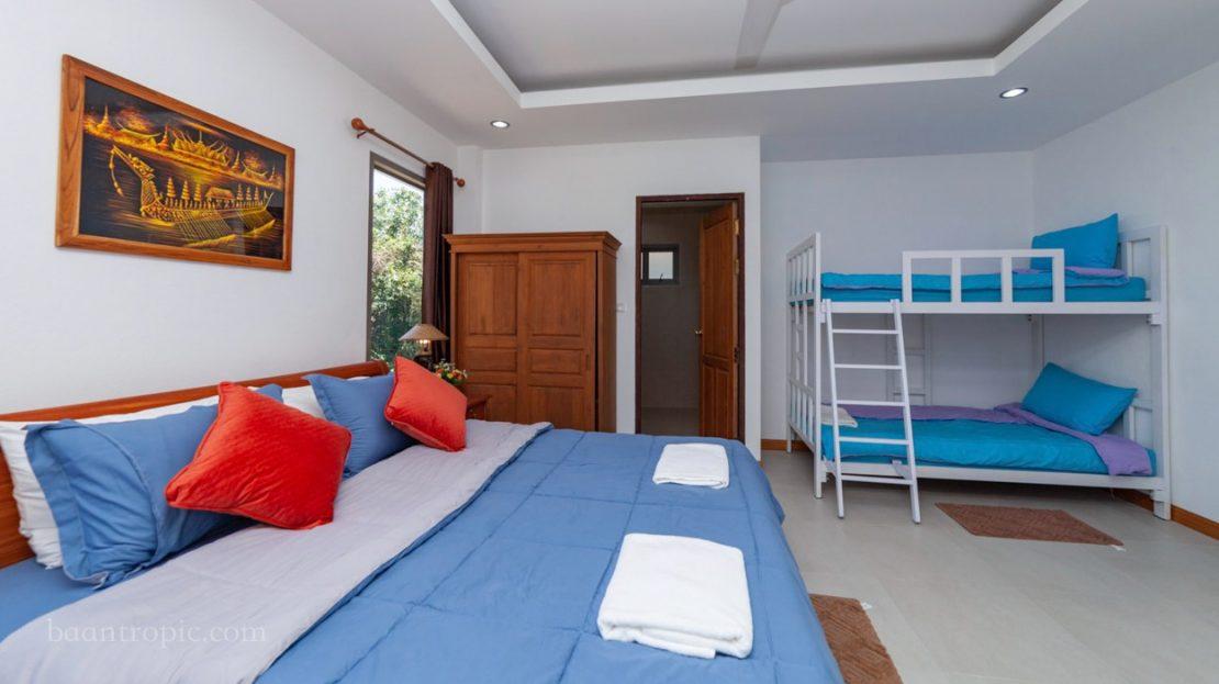 Вилла с 3 спальнями на Бопуте в аренду на Самуи