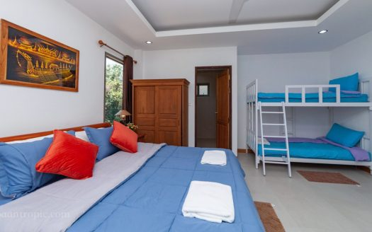 Villa with 3 bedrooms on Bophut for rent on Koh Samui
