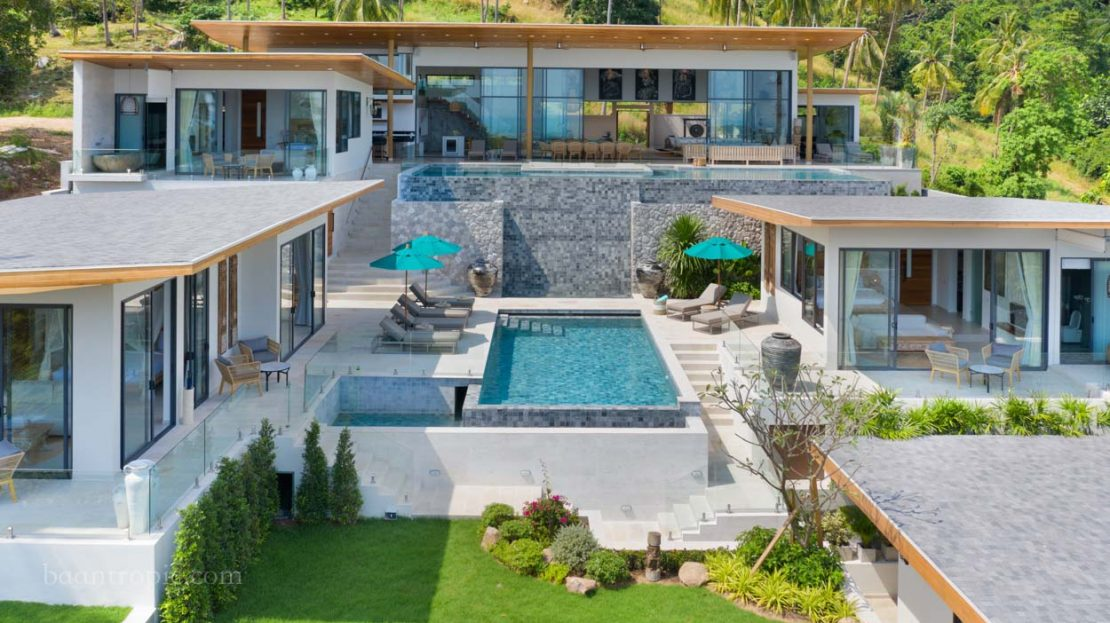 6 bedroom villa in Chaweng for rent in Samui