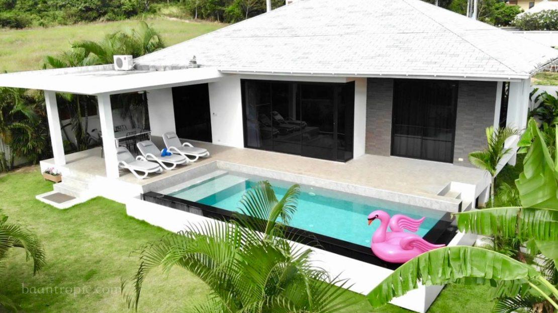 Вилла с 3 спальнями в районе Банграк в аренду на Самуи