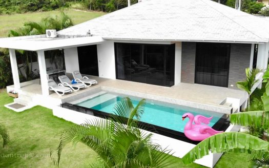 3 bedroom villa for rent in Bangrak for rent in Samui