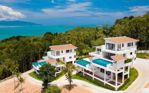 3 bedroom villa in Bophut for rent in Samui