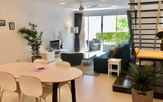 Townhouse with 2 bedrooms in Bophut area for rent on Koh Samui