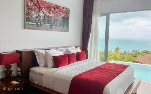 Villa with 2 bedrooms and sea views in Chaweng