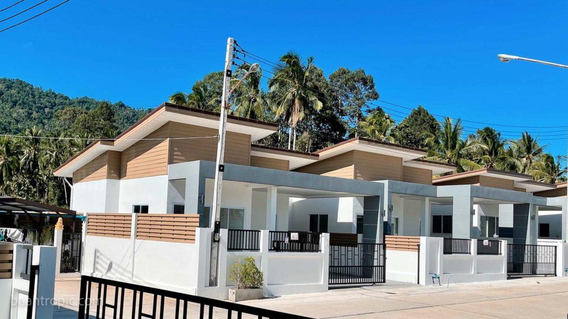 Новый дом с 3 спальнями в строящемся проекте на Ламаи