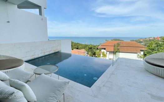 Вилла с видом на море в аренду на Самуи