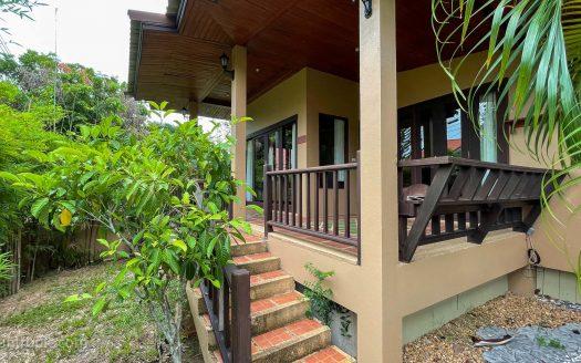 Дом с 2 спальнями и общим бассейном в резиденции в районе Банграк купить на Самуи